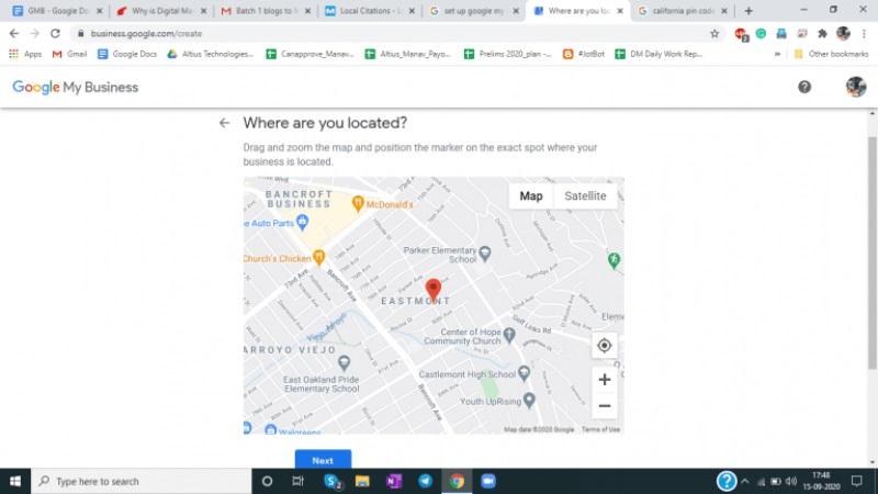 Fijar la ubicacion