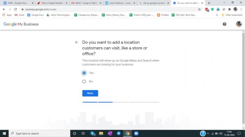 Ubicacion de Google My Business