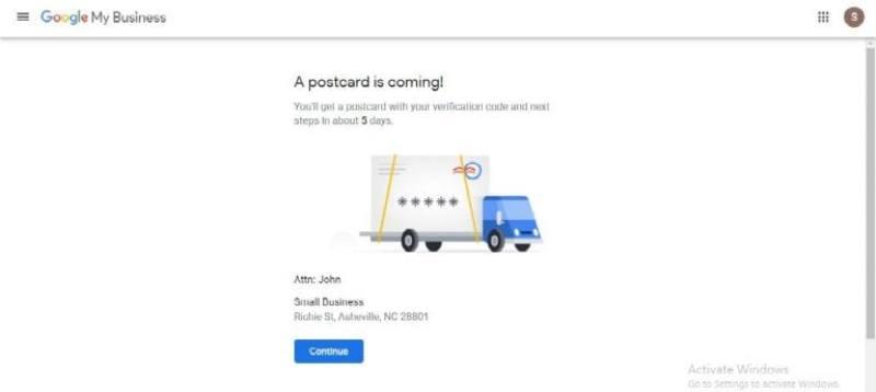 Verificacion de tarjeta postal 2